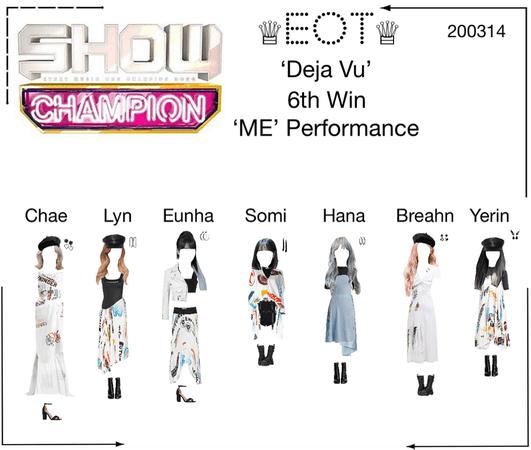 ♕EOT♕ 'Show Champion' 200314