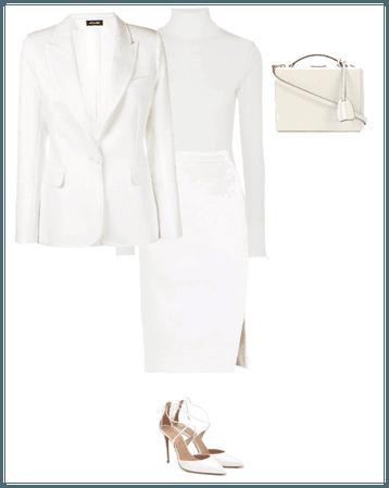 AllWhite work attire
