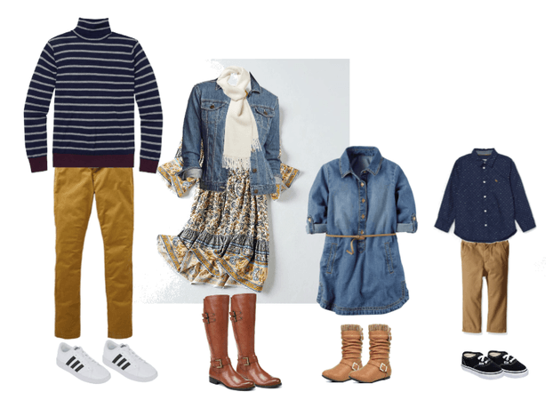 Family Fall Photo Outfits 8