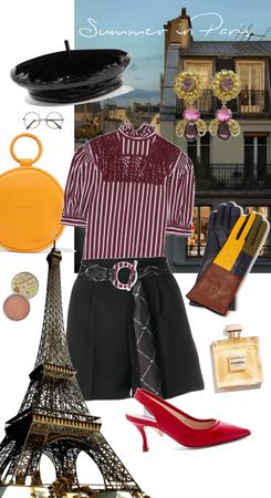 summer in Paris - with BERET