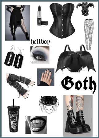 2000s goth girl
