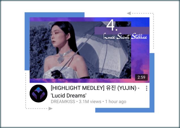 유진 𝐘𝐔𝐉𝐈𝐍 - Lucid Dreams Highlight Medley