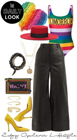 Edgy Opulence Rainbow