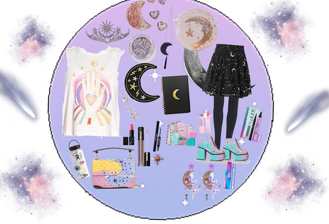 circle moonlight