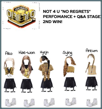 Inkigayo 2nd Win