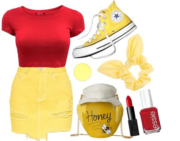 Winnie the Pooh Disneybounding