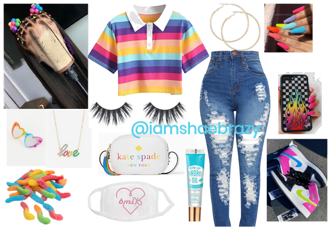 rainbow outfit