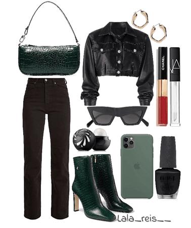 Black Stylish Outfit