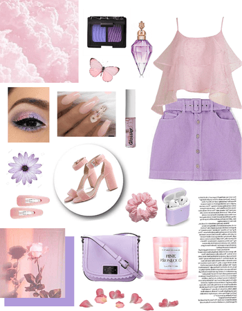 Pink & purple💜💓