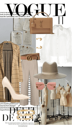 fashion designer on the go