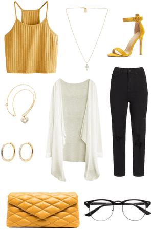 Fall Yellow Chic