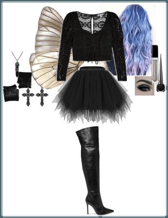 Joy Keaton 15 - Halloween 2020 : Dark Fairy