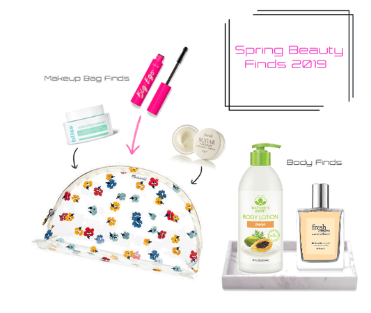 Spring Beauty Finds 2019
