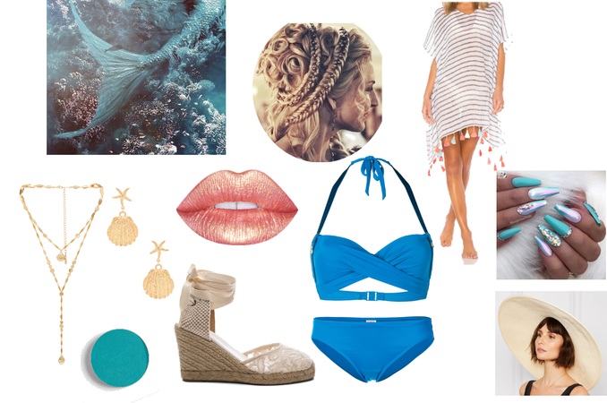 siren outfit/aesthetic