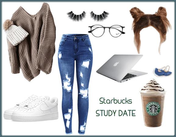 Starbucks Study Date
