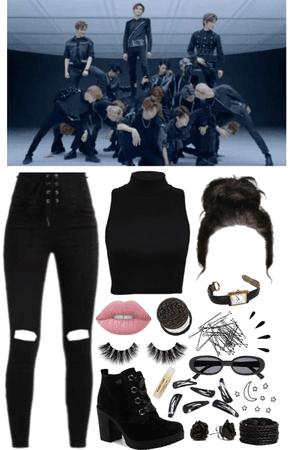 Kim JinJoo [Black on Black]