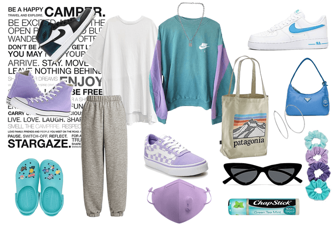 Kind of daily pastel look for teens