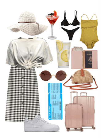 beach holiday outfit