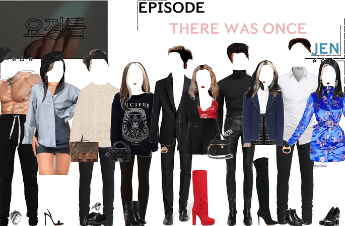 FAIRYTALE EPISODE 3: THERE WAS ONCE   JEN & LUCIFER SCENES