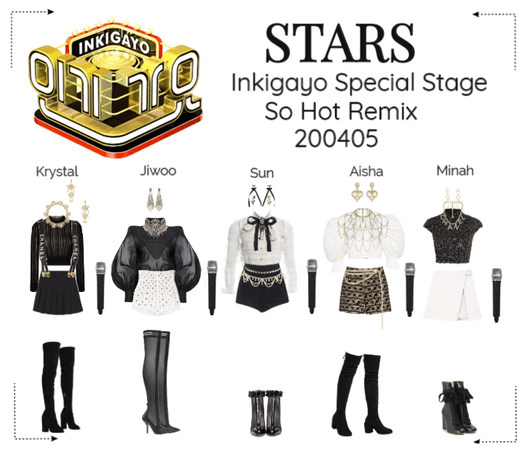 STARS | Inkigayo Special Stage | So Hot Remix