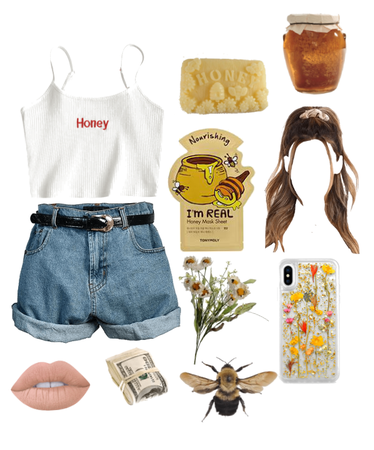 Girl Who's Obsessed With Honey Trend