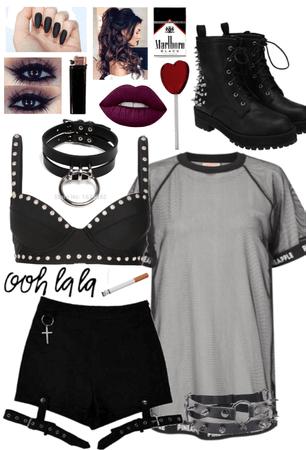 The bad girl #1