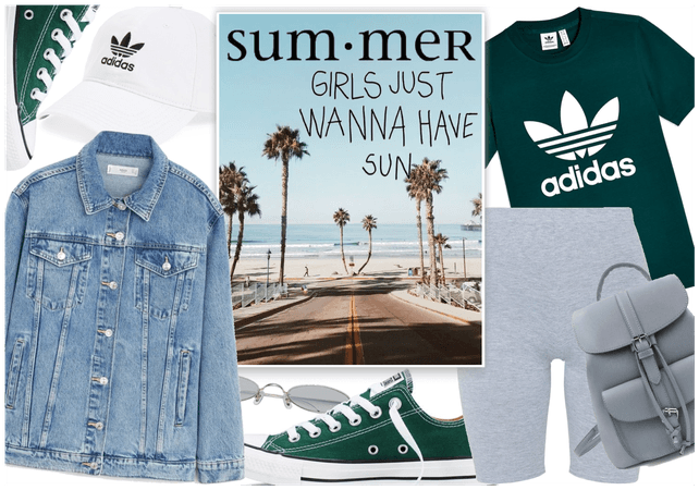 Summer in Biker Shorts