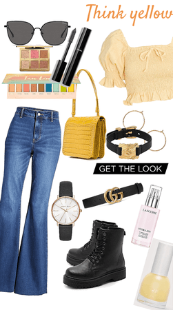 Yellow and stylist