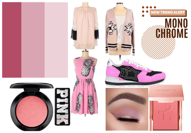 pink monochrome babes