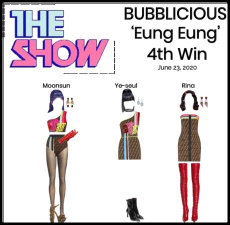 BUBBLICIOUS (신기한) 'Eung Eung' 4th Win