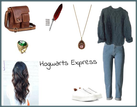 The Hogwarts Express/ Those Ocean Blue Eyes