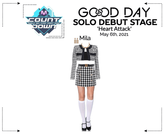 GOOD DAY (굿데이) [MCOUNTDOWN] Solo Debut Stage