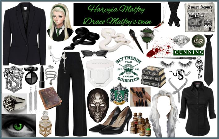 Harpyia Malfoy-Draco's Twin