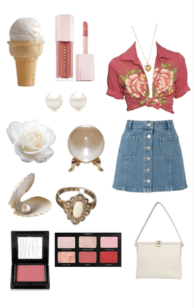 summer vintage soft and girly