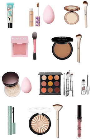 my makeup routine up to date💄👄👁