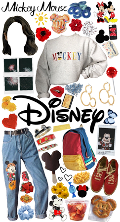 what I'd wear if I went to Disney Land