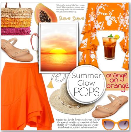 Summer Monochrome: Orange