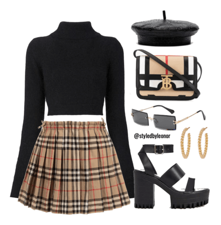Edgy Artsy School Girl Outfit