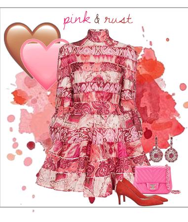 Pink & Rust