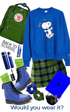 Snoopy Back to School