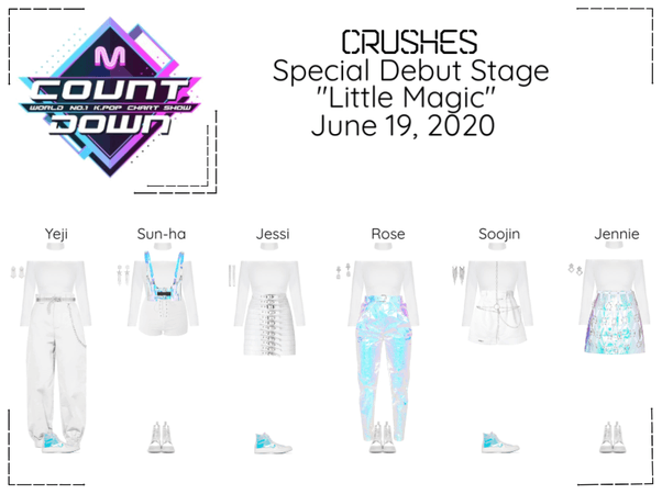 "Crushes (호감) ""Little Magic"" Special Debut Stage"