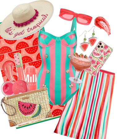 Stripe Swimsuit