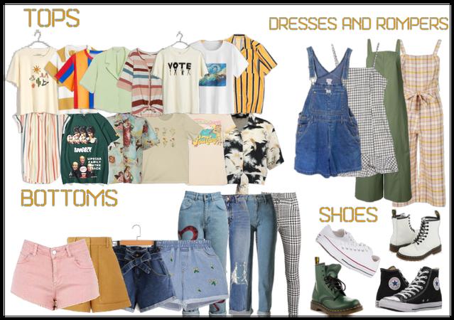 30 Piece Capsule Wardrobe -  Artsy Girl