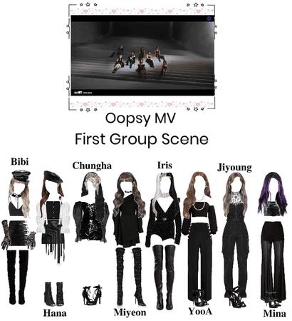 Oopsy MV- first group scene