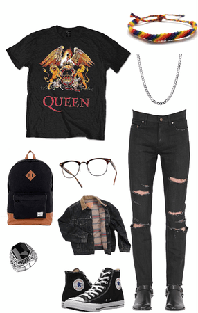 young adults cool casual outfit