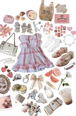 pink pastel summer