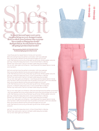 Soft Spring Outfit