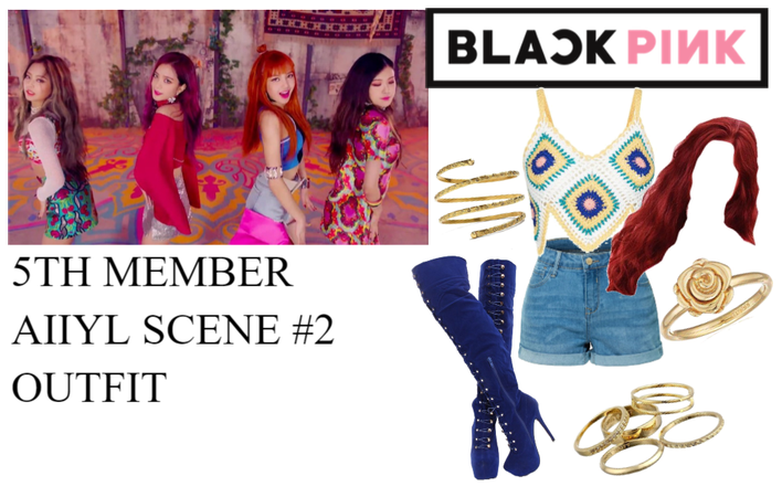 BLACKPINK AIIYL 5th Member Scene #2 Outfit