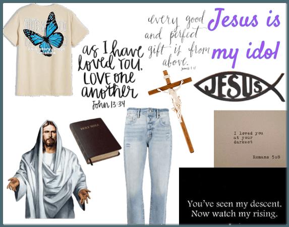Jesus is my idol❤️💕
