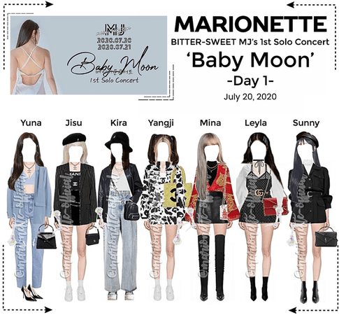 MARIONETTE (마리오네트) [DAY 1] BSW MJ's 'Baby Moon' 1st Solo Concert